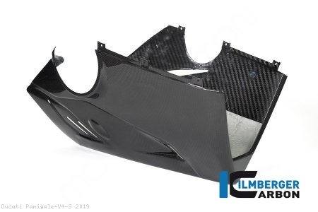 Carbon Fiber Bellypan by Ilmberger Carbon Ducati / Panigale V4 S / 2019