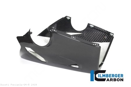 Carbon Fiber Bellypan by Ilmberger Carbon Ducati / Panigale V4 R / 2019