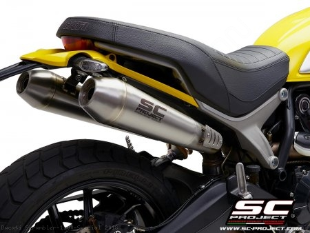 Conic Exhaust by SC-Project Ducati / Scrambler 1100 Special / 2018