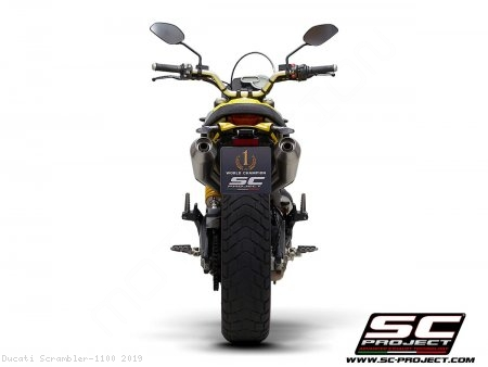 Conic Exhaust by SC-Project Ducati / Scrambler 1100 / 2019