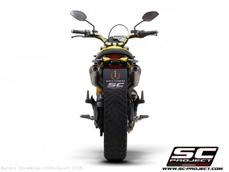 Conic Exhaust by SC-Project Ducati / Scrambler 1100 Sport / 2018