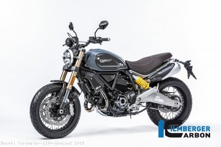 Carbon Fiber Headlight Surround by Ilmberger Carbon Ducati / Scrambler 1100 Special / 2019