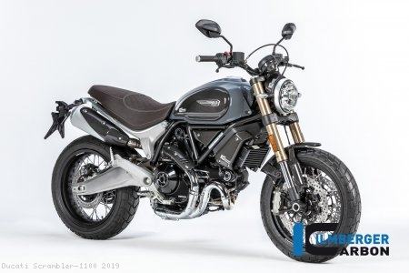 Carbon Fiber Tank Side Panel by Ilmberger Carbon Ducati / Scrambler 1100 / 2019
