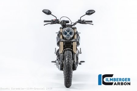 Carbon Fiber Front Fender by Ilmberger Carbon Ducati / Scrambler 1100 Special / 2019