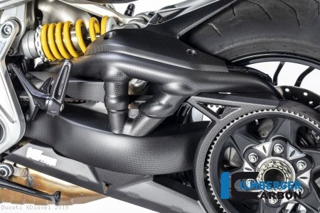 Carbon Fiber Swingarm Cover by Ilmberger Carbon Ducati / XDiavel / 2019