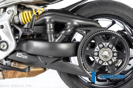 Carbon Fiber Swingarm Cover by Ilmberger Carbon Ducati / XDiavel S / 2016