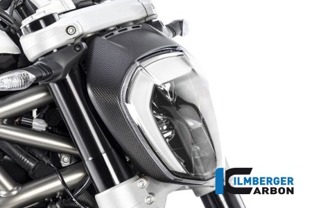 Carbon Fiber Headlight Outer Ring by Ilmberger Carbon