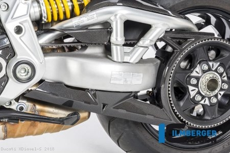 Carbon Fiber Belt Cover by Ilmberger Carbon Ducati / XDiavel S / 2018