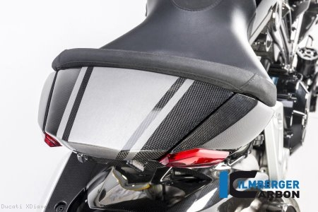Carbon Fiber Passenger Seat Cover by Ilmberger Carbon Ducati / XDiavel S / 2017