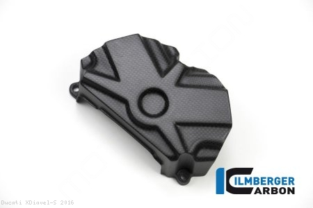 Carbon Fiber Belt Cover Set by Ilmberger Carbon Ducati / XDiavel S / 2016