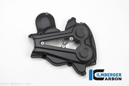 Carbon Fiber Belt Cover Set by Ilmberger Carbon Ducati / XDiavel S / 2018