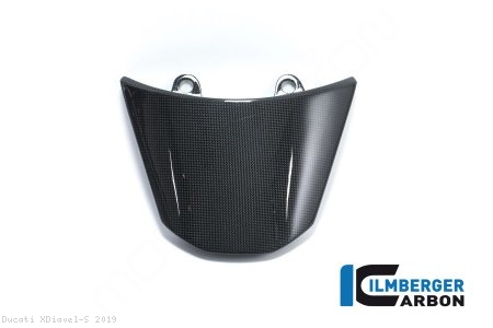 Carbon Fiber Passenger Seat Cover by Ilmberger Carbon Ducati / XDiavel S / 2019
