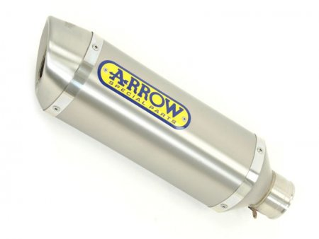 Street 'Thunder' Full System Exhaust with Stainless End Cap by Arrow
