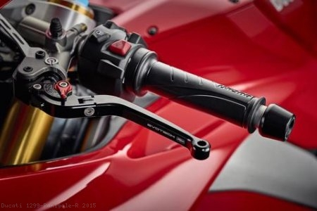 Standard Length Folding Brake and Clutch Lever Set by Evotech Ducati / 1299 Panigale R / 2015