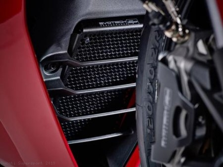 Radiator and Oil Cooler Guard by Evotech Performance Ducati / Supersport / 2019