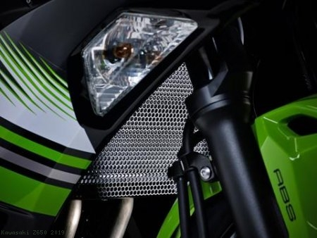 Radiator Guard by Evotech Performance Kawasaki / Z650 / 2019