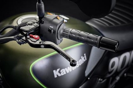 Standard Length Folding Brake and Clutch Lever Set by Evotech