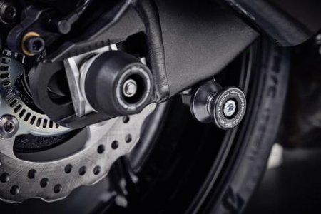 Paddock Stand Swingarm Spools by Evotech Performance