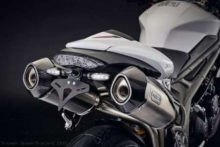 Tail Tidy Fender Eliminator by Evotech Performance Triumph / Speed Triple S / 2018