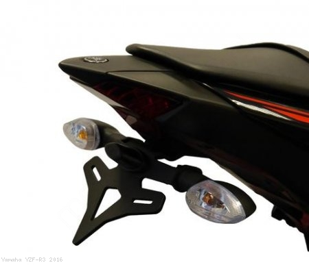 Tail Tidy Fender Eliminator by Evotech Performance Yamaha / YZF-R3 / 2016