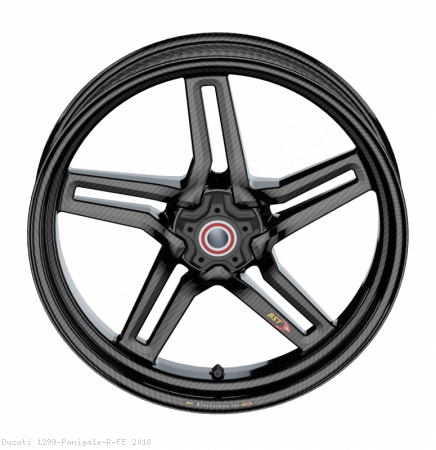 Carbon Fiber Rapid Tek Front Wheel by BST Ducati / 1299 Panigale R FE / 2018