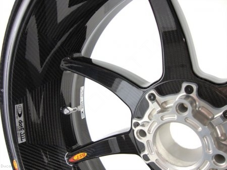 7 Spoke Carbon Fiber Wheel Set by BST Ducati / 1199 Panigale S / 2012