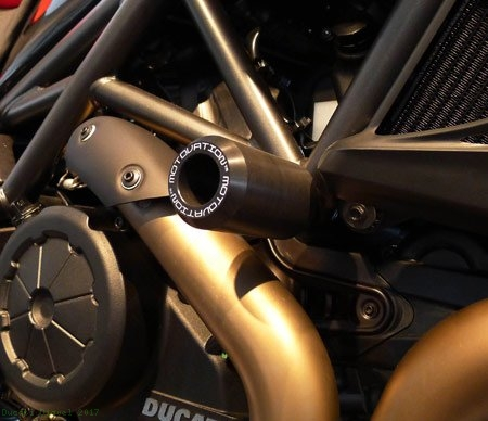 Frame Sliders by Motovation Accessories Ducati / Diavel / 2017