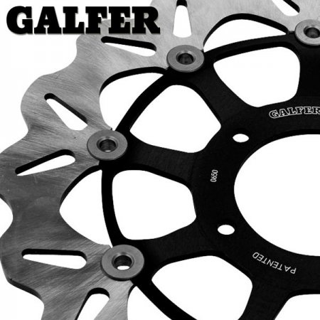 Pair Of Front Wave Brake Rotors by Galfer
