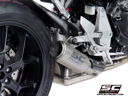 CR-T Exhaust by SC-Project Honda / CB1000R Neo Sports Cafe / 2018