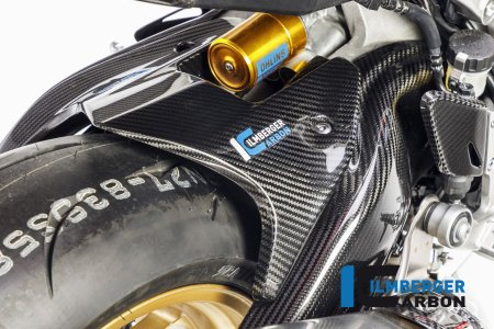 Carbon Fiber Rear Hugger by Ilmberger Carbon
