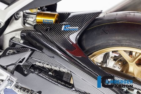 Carbon Fiber Rear Hugger by Ilmberger Carbon Honda / CBR1000RR / 2017