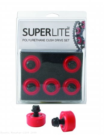 Superlite 5 Piece Polyurethane Cush Drive Set Ducati / Monster 1100 / 2009