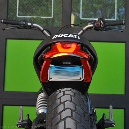 Fender Eliminator Integrated Tail Light Kit by NRC Ducati / Scrambler 800 Mach 2.0 / 2018