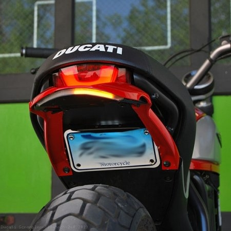 Fender Eliminator Integrated Tail Light Kit by NRC Ducati / Scrambler 800 Mach 2.0 / 2019