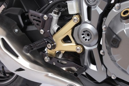 RCT Adjustable Rearsets by Gilles Tooling Kawasaki / Z900 / 2017