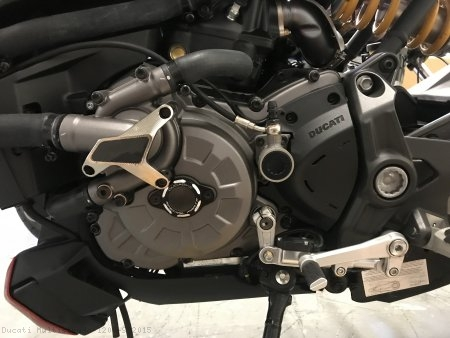 Water Pump Guard with Carbon Inlay by Ducabike Ducati / Multistrada 1200 S / 2015