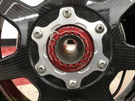 Rear Wheel Axle Nut by Ducabike Ducati / 1098 R / 2008