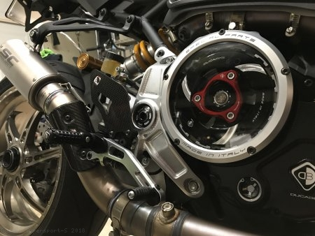 Adjustable Rearsets by Ducabike Ducati / Supersport S / 2018