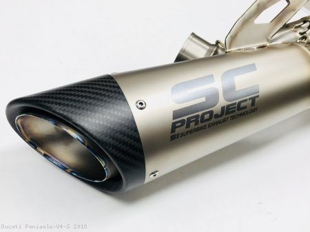 S1 Exhaust by SC-Project Ducati / Panigale V4 S / 2018