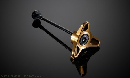 Rear Wheel Slider 'Gallettone' by AEM Factory Ducati / Monster 1100 EVO / 2011