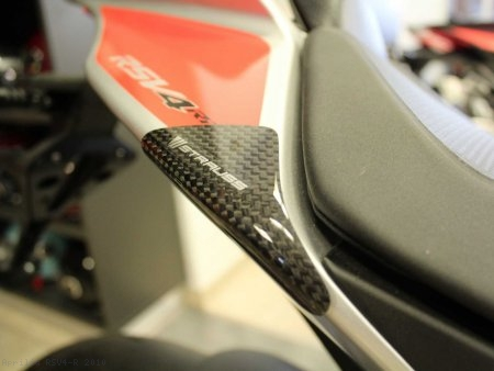 Carbon Fiber Street Version Tail Slider Kit by Strauss Carbon Aprilia / RSV4 R / 2010