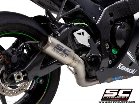 CR-T Exhaust by SC-Project Kawasaki / Ninja ZX-10RR / 2019