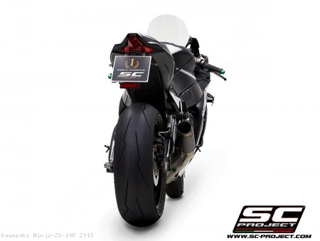 GP70-R Exhaust by SC-Project Kawasaki / Ninja ZX-10R / 2018