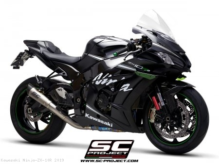 S1 Exhaust by SC-Project Kawasaki / Ninja ZX-10R / 2019
