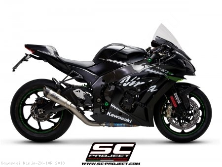 S1 Exhaust by SC-Project Kawasaki / Ninja ZX-10R / 2018