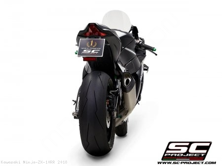 SC1-R Exhaust by SC-Project Kawasaki / Ninja ZX-10RR / 2018