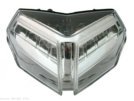 Integrated Tail Light by Competition Werkes Ducati / 848 EVO / 2013