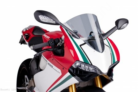 Z-RACING Windscreen by PUIG Ducati / 1199 Panigale / 2012
