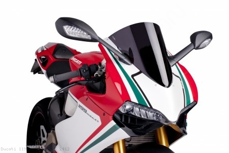 Z-RACING Windscreen by PUIG Ducati / 1199 Panigale S / 2012