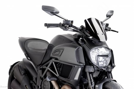PUIG SPORT Naked New Generation Windscreen Ducati / Diavel / 2016